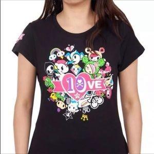 Tokidokie Limited Edition 10th Anniversary Tshirt